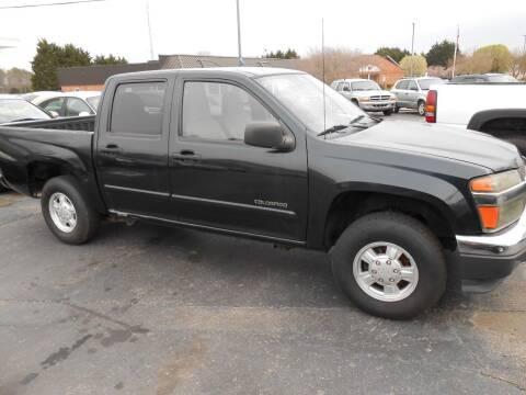 2005 Chevrolet Colorado for sale at granite motor co inc - Granite Motor Co 2 in Hickory NC