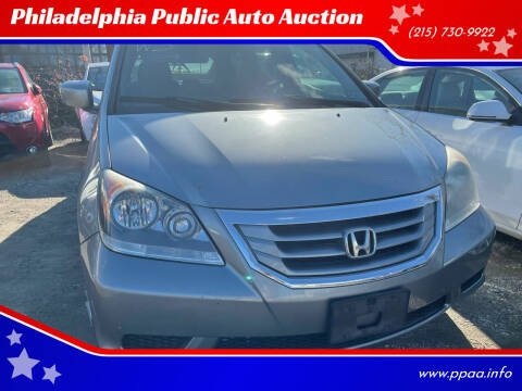 2009 Honda Odyssey for sale at Philadelphia Public Auto Auction in Philadelphia PA