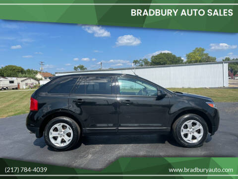 2013 Ford Edge for sale at BRADBURY AUTO SALES in Gibson City IL
