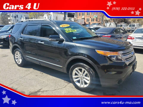 2013 Ford Explorer for sale at Cars 4 U in Haverhill MA