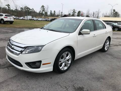 2012 Ford Fusion for sale at IH Auto Sales in Jacksonville NC