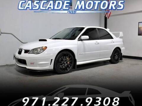 2006 Subaru Impreza for sale at Cascade Motors in Portland OR
