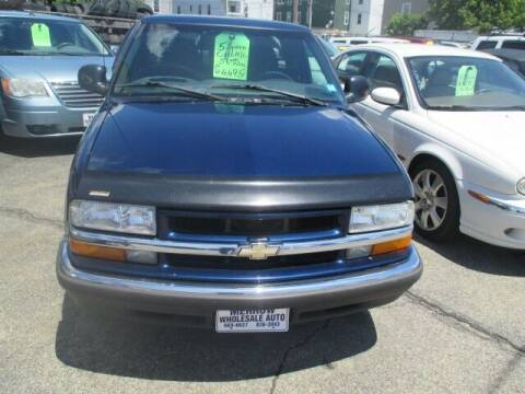 1998 Chevrolet S-10 for sale at MERROW WHOLESALE AUTO in Manchester NH