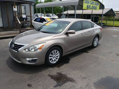 2013 Nissan Altima for sale at Texas 1 Auto Finance in Kemah TX