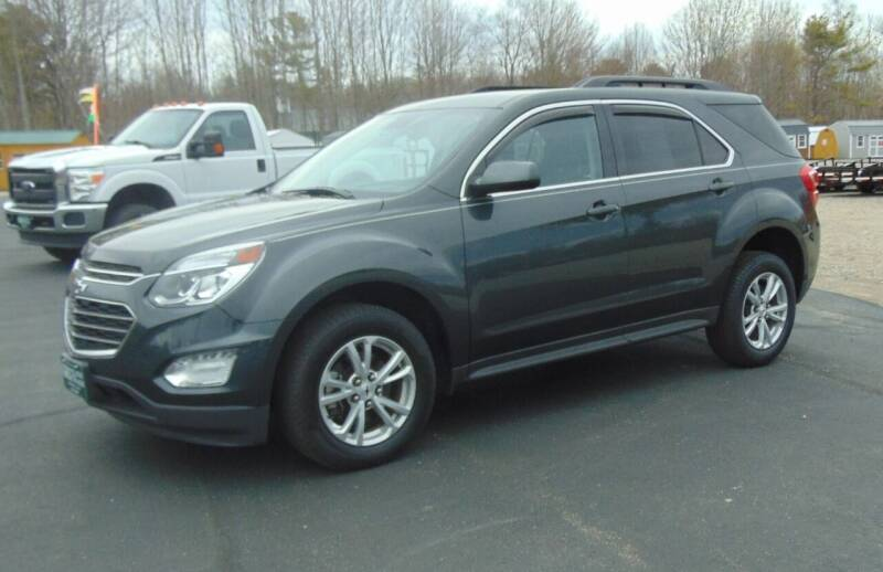 2017 Chevrolet Equinox for sale at Greg's Auto Sales in Searsport ME