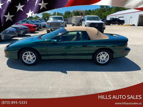 1995 Chevrolet Camaro for sale at Hills Auto Sales in Salem AR