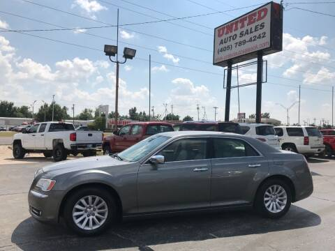 2012 Chrysler 300 for sale at United Auto Sales in Oklahoma City OK