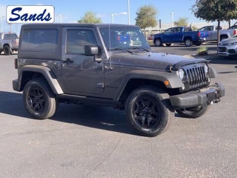 2017 Jeep Wrangler for sale at Sands Chevrolet in Surprise AZ