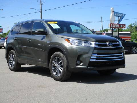 2018 Toyota Highlander for sale at A & A IMPORTS OF TN in Madison TN