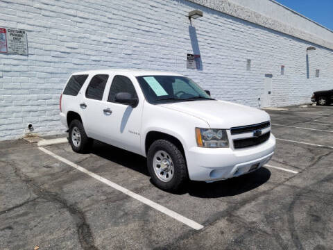 2009 Chevrolet Tahoe for sale at ADVANTAGE AUTO SALES INC in Bell CA