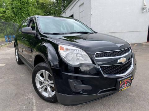 2013 Chevrolet Equinox for sale at JerseyMotorsInc.com in Teterboro NJ