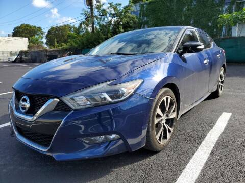 2018 Nissan Maxima for sale at Eden Cars Inc in Hollywood FL