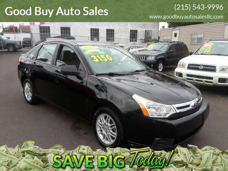 2010 Ford Focus for sale at Good Buy Auto Sales in Philadelphia PA