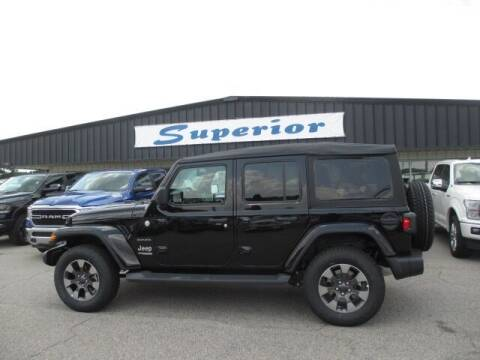 2019 Jeep Wrangler Unlimited for sale at SUPERIOR CHRYSLER DODGE JEEP RAM FIAT in Henderson NC
