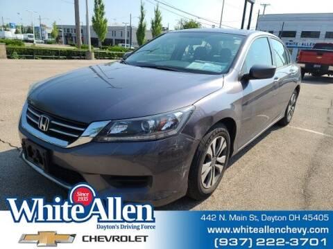 2015 Honda Accord for sale at WHITE-ALLEN CHEVROLET in Dayton OH