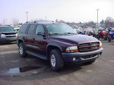 2003 Dodge Durango for sale at VOA Auto Sales in Pontiac MI