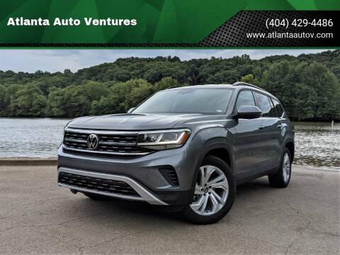 2021 Volkswagen Atlas for sale at Atlanta Auto Ventures in Roswell GA
