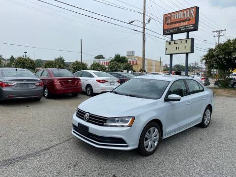 2017 Volkswagen Jetta for sale at Autohaus of Greensboro in Greensboro NC