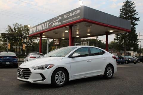 2018 Hyundai Elantra for sale at Deals N Wheels 306 in Burlington NJ