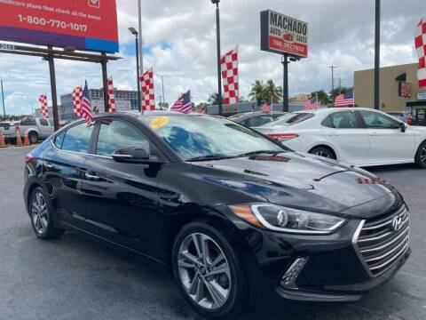 2017 Hyundai Elantra for sale at MACHADO AUTO SALES in Miami FL