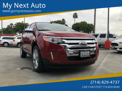 2013 Ford Edge for sale at My Next Auto in Anaheim CA