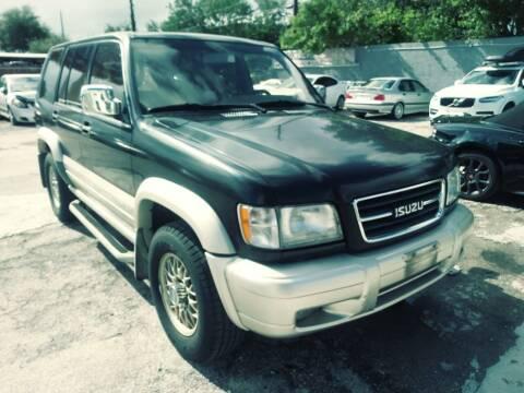 1999 Isuzu Trooper for sale at Solares Auto Sales in Miami FL