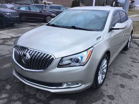 2014 Buick LaCrosse for sale at One Price Auto in Mount Clemens MI
