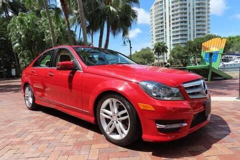 2013 Mercedes-Benz C-Class for sale at Choice Auto in Fort Lauderdale FL