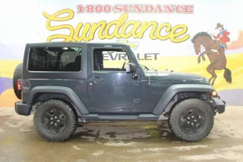 2017 Jeep Wrangler for sale at Sundance Chevrolet in Grand Ledge MI