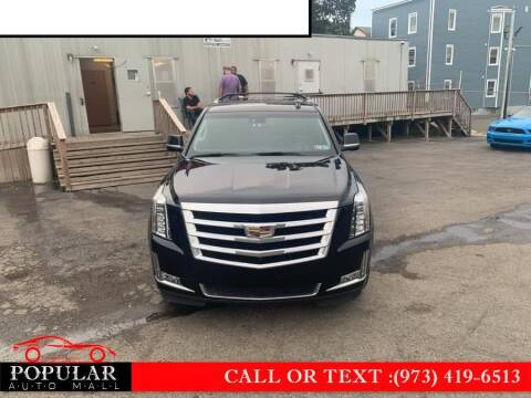 2016 Cadillac Escalade ESV for sale at Popular Auto Mall Inc in Newark NJ