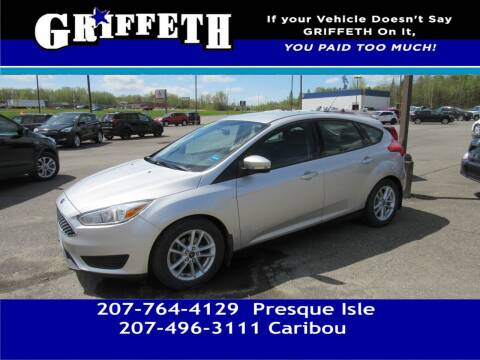 2015 Ford Focus for sale at Griffeth Mitsubishi - Pre-owned in Caribou ME