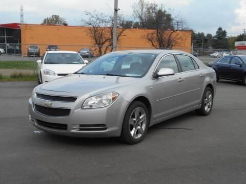 2008 Chevrolet Malibu for sale at MT MORRIS AUTO SALES INC in Mount Morris MI