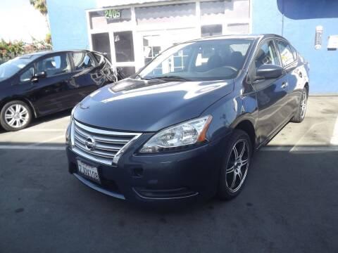 2014 Nissan Sentra for sale at PACIFICO AUTO SALES in Santa Ana CA