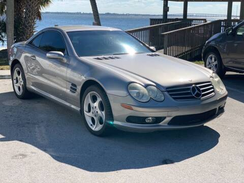 2004 Mercedes-Benz SL-Class for sale at Motorcars of Melbourne in Rockledge FL