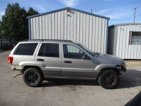 2003 Jeep Grand Cherokee for sale at BUZZZ MOTORS in Moore OK