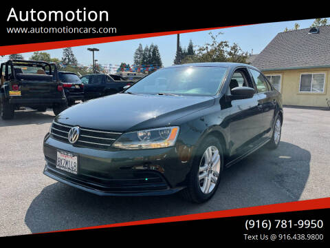 2015 Volkswagen Jetta for sale at Automotion in Roseville CA