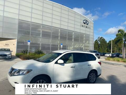 2016 Nissan Pathfinder for sale at Infiniti Stuart in Stuart FL