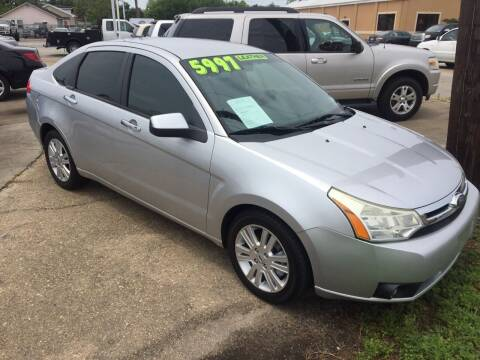 2011 Ford Focus for sale at Uncle Ronnie's Auto LLC in Houma LA