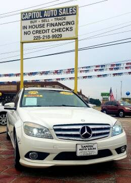 2010 Mercedes-Benz C-Class for sale at CAPITOL AUTO SALES LLC in Baton Rouge LA
