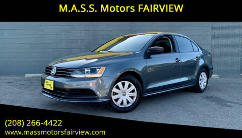 2015 Volkswagen Jetta for sale at M.A.S.S. Motors - Fairview in Boise ID