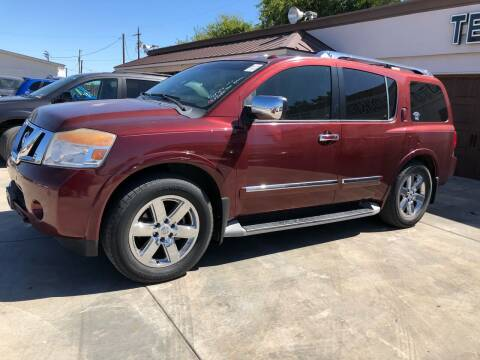 2010 Nissan Armada for sale at Texas Auto Broker in Killeen TX
