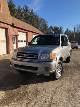 2003 Toyota Sequoia for sale at Hornes Auto Sales LLC in Epping NH