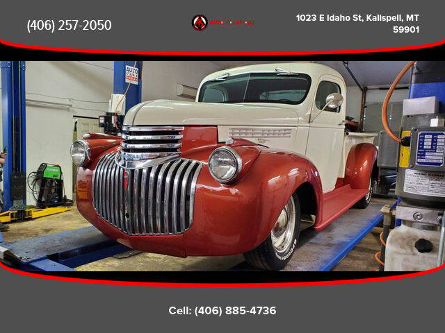 1946 Chevrolet 3100 for sale at Auto Solutions in Kalispell MT