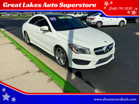 2014 Mercedes-Benz CLA for sale at Great Lakes Auto Superstore in Waterford Township MI
