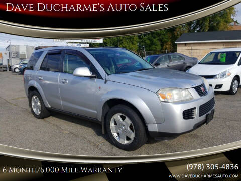 2006 Saturn Vue for sale at Dave Ducharme's Auto Sales in Lowell MA