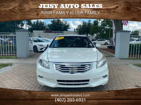 2011 Honda Accord for sale at JEISY AUTO SALES in Orlando FL