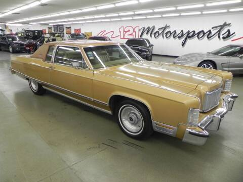 1976 Lincoln Continental for sale at 121 Motorsports in Mount Zion IL