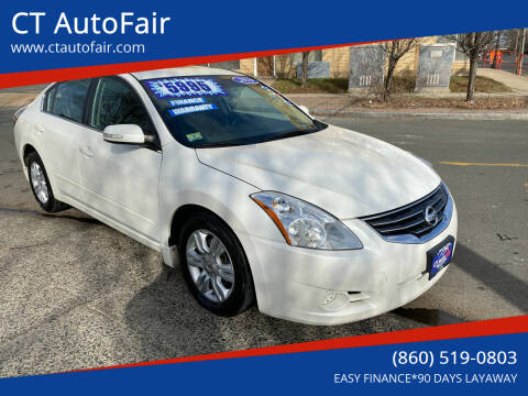 2010 Nissan Altima for sale at CT AutoFair in West Hartford CT