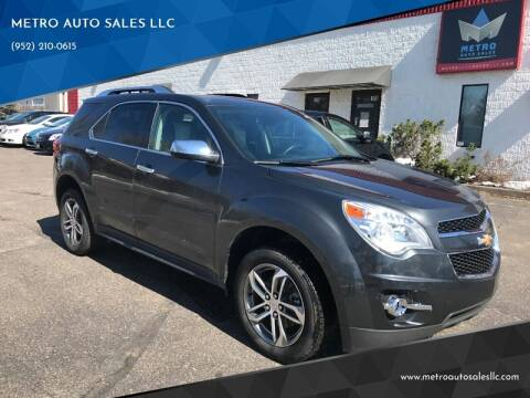 2017 Chevrolet Equinox for sale at METRO AUTO SALES LLC in Blaine MN