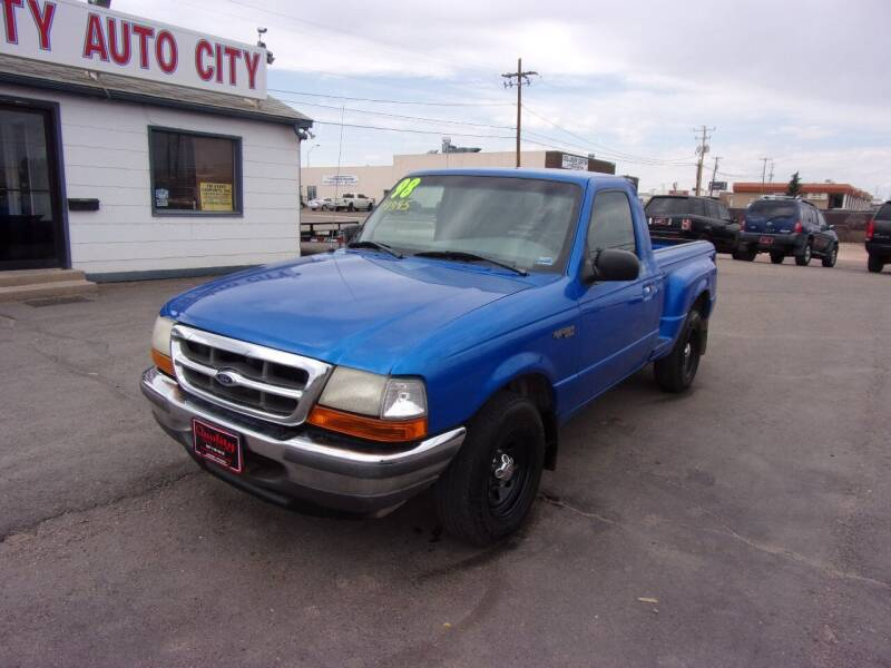 1998 Ford Ranger for sale at Quality Auto City Inc. in Laramie WY